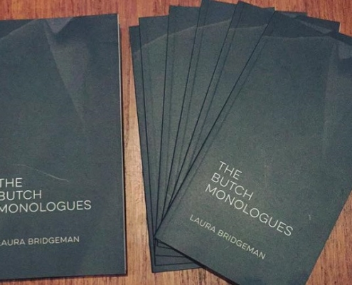 Photo of The Butch Monologues book cover