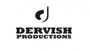 The words 'Dervish Production' in black capital letters against white.